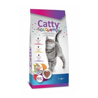 Catty Kedi Maması Multicolor 1 kg