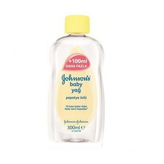Johnsons Baby Bebe Yağı Papatya Özlü 300 ml